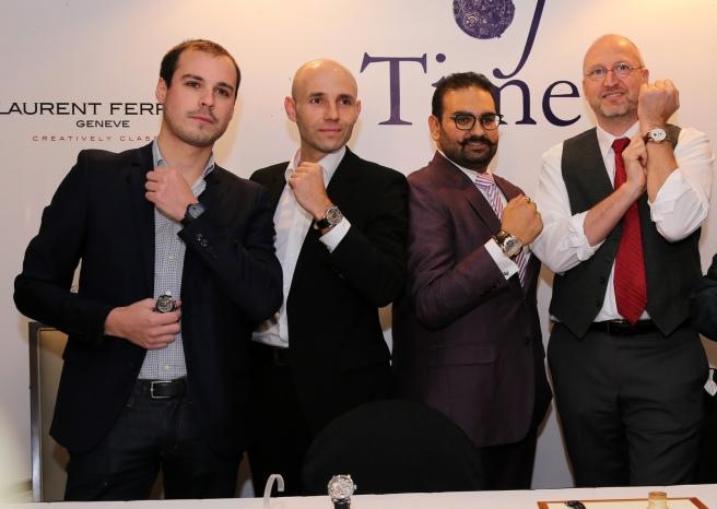 Pierre Lheureux, Stefan Kudoke, Rahul Kapoor, Marco Lang and Rajiv Kapoor(7).JPG