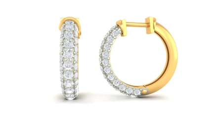 2. Hoop Earrings by SRS Jewells