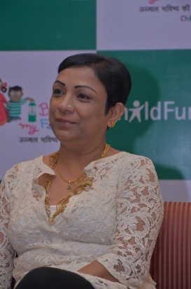 Neelam Makhijani Country Director & CEO ChildFund India