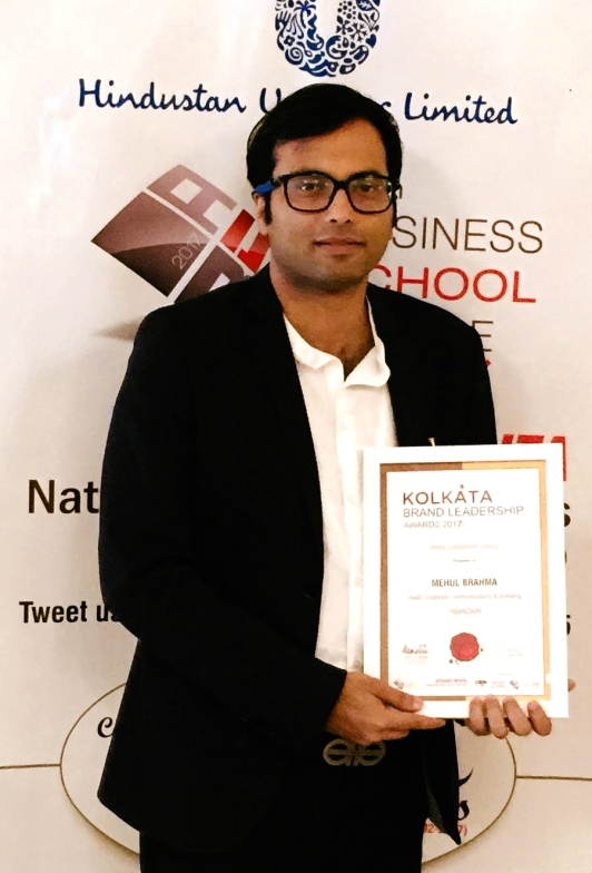Author Mahul Brahma Wins Brand Leadership  Award mjunction.jpg