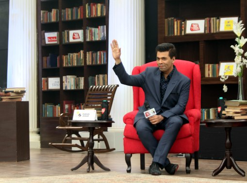 Karan Johar ,Director,producer and Screenwriter,at Sahitya Aaj Tak, in New Delhi on Saturday 11-11-2017 -5.jpg