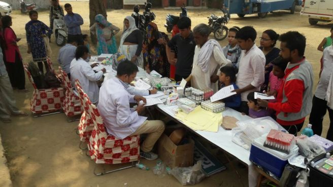Patients flock to Bada Village health camp.jpg