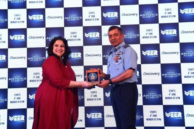 Launch of a special series 'Breaking Point- Indian Air Force Academy'.JPG