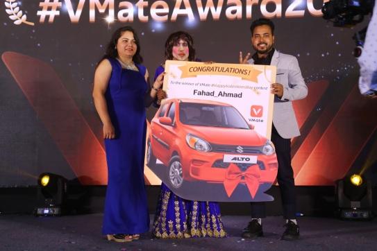 Fahad Ahmad - car winner of Valentine challenge