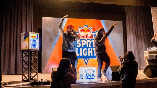 rapper duo Prozach and EE win Hyderabad Qualifier of Red Bull Spotlight S3